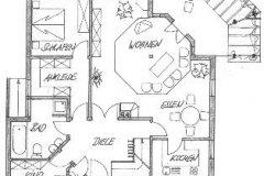 """Haustyp """"Akzente"""" Grundriss Erdgeschoss"""