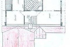 "Haustyp ""Zeitlos"" Grundriss Obergeschoss"